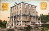 Maniwaki, Quebec, Canada 1906 Postcard: General Hospital