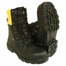 Chainsaw Boots Black And Yellow Forestry Aborist COFRA Class 1 Size 7 Euro 41