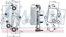 Scambiatore di Calore Acqua Olio Opel Astra K 1.6 CDTi Diesel NUOVO
