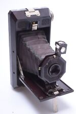 SCARCE*  SOHO PILOT BORDEAUX RED 6x9CM '1933' 120 ROLL FILM BAKELITE CAMERA