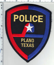 Plano Police (Texas)Shoulder Patch - from the Late 1980's