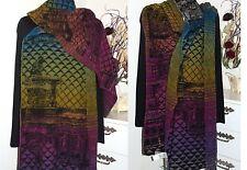 IVKO Lammwolle Schal made in Belgrade Motive aus Belgrad XXL scarf bunt 52641