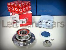 Rear Axle Hub with Wheel Bearing +HARDWARE -FAG OEM Kit VW MK4 Jetta Golf Beetle