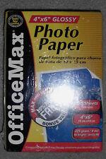 "4""x6"" Office Max Glossy Photo Paper, 100 Sheets, NIB"