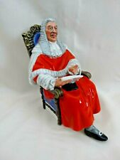 """Royal Doulton Character Figurine- """"The Judge"""" Hn 2443 1971 England Excellent Law"""