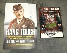 Hang Tough Special Ed. Signed By Bradford Freeman Band Of Brothers + D-Day Relic