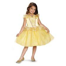 Halloween Disney Princess Belle Girls Costume,Size Medium 7-8,NWT