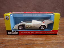 ancienne SOLIDO 1/43 PORSCHE 917/10 TC CAN AM Ref 18 (07/1973)