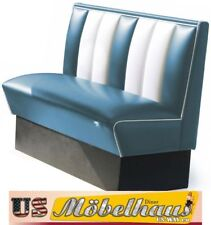 HW-120B American Diner Bench Furniture 50´S USA Style Catering