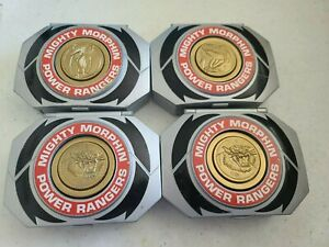MIGHTY MORPHIN POWER RANGERS MICRO MORPHER PLAYSETS 1995 LOT OF 4 BANDAI