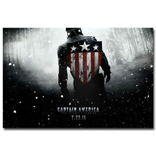 Captain America The First Avenger Movie Art Silk Poster 13x20 inch 001