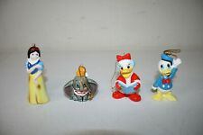 Lot of VTG Disney Ceramic Christmas Ornament Japan Dumbo Elephant Daisy Donald