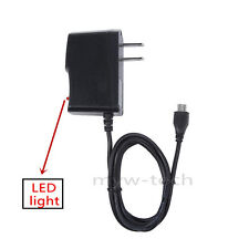 5V 2A Rapid AC Adapter Power Charger Micro USB Cord for Mobile Cell Smart Phone