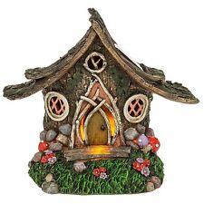 Fairy Dell Woodland Solar Cottage Fairytale Shabby Chic Gift Novelty Decoration
