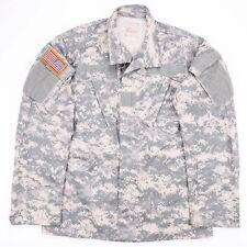 Vintage US ARMY Combat Uniform Digital Camo Lightweight Jacket Size Men's Small