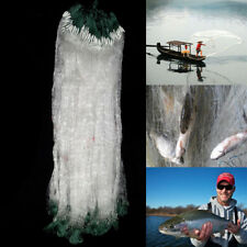 25M Clear Green White Monofilament Fishing Net Fish Mesh Hole Gill Net 25x 0.7M