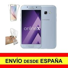 Funda Doble Transparente para SAMSUNG GALAXY A7 (2017) Antichoque Total a2574