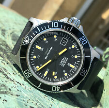 Glycine Combat Sub GL0083 Automatic Swiss Dive Watch on Silicon Strap