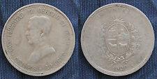 MONETA COIN REPUBLICA ORIENTAL DEL URUGUAY 20 CENT. 1920 ARGENTO SILVER SILBER 2