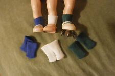 "3 pr. Vintage socks for 8"" dolls: Ginny, Muffie, Madame Alexander, Free Ship!"
