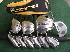 King Cobra Mizuno Adams Irons Driver Wood Hybrid Mens Complete Golf Club Set RH*