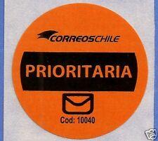 CHILE, OFFICIAL CORREOSCHILE UNUSED POSTAL STICKER # 15