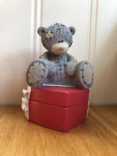 Me to you tatty teddy figurine Secret Heart Trinket Box