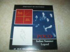 Poco - Indian Summer/Legend (2013 UK Sealed CD)