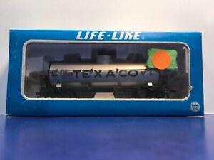 "HO Scale ""Texaco Oil Company"" TCX 6305 Single Dome Tanker Freight Train W/Box1/2"