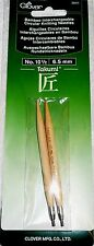 Clover Takumi Bamboo Interchangeable Circular Knitting Needles No. 10 1/2 -6.5mm