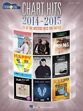 Chart Hits of 2014-2015 Sheet Music 19 of the Hottest Hits for Guitar  000142554