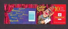 1995 Grande-Bretagne Bar-codés Timbre livret complet > Salutations KX7