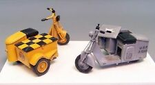 PLUS MODEL COMPLETE KIT U.S.SCOOTER WITH SIDECAR Scala 1:35 Cod.PL362