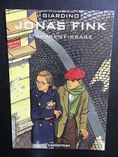 CPM Carte publicitaire Jonas Fink l'apprentissage