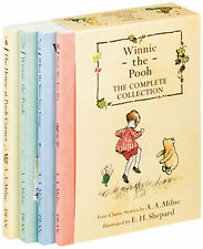 Winnie the Pooh Complete Collection by A. A. Milne (box set, paperback) NEW