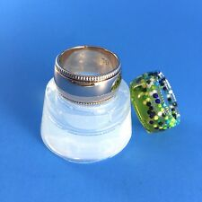 CLEAR SILICONE MOLD, (MR007) ROR RING,CREATE YOUR RESIN JEWELRY, RING SIZE US 9
