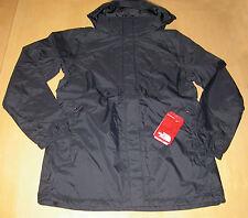NWT The North Face Resolve Parka Jacket Raincoat Black Womens Sz L