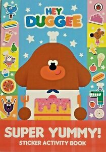 HEY DUGGEE SUPER YUMMY! STICKER ACTIVITY BOOK PUZZLES COLOURING KIDS GIFT