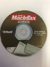 Intuit Quicken MacInTax Deluxe 1997 Final Edition v. 97.00a Mac