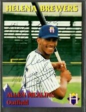 Rocky Mountain Motors #9 Allen Mealing Helena Brewers signed autograph (E48)