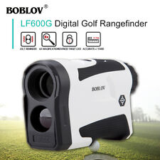 656Yard Golf Laser Range Finder FLAG-LOCK/Slop Compensation Distance Speed Meter