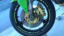 MOTORCYCLE RIM STRIPES WHEEL DECALS TAPE STICKERS KAWASAKI NINJA EX250 EX250R