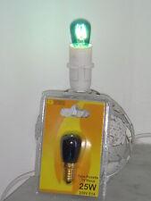 Ampoule tube bleu filament incandescent EDISON 25W E14 SUDRON LAMPE CROZE NEUVE