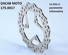 175.0017 DISCO DE FRENO TRASERO D.202 POLINI MALAGUTI F 12 50 PHANTOM LC