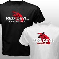MMA Pride Fc Fighter Fedor Emelianenko M1 Red Devil Fighting Club Gym T-shirt