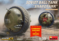 "Miniart 40001 - 1/35 Soviet Ball Tank ""Sharotank"" Interior Plastic Model it"