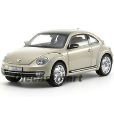 KYOSHO 1:18 2012 2013 VW VOLKSWAGEN BEETLE COUPE MODEL MOON ROCK SILVER 08811MS