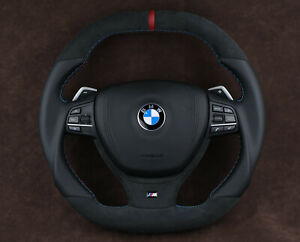 OEM BMW Exclusive Custom Steering Wheel with paddle shifts F10 F01 F02 F07 M5 M6