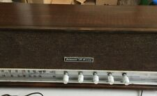 Delmonico Nivico AM FM Tube Radio model FMS-411 Works! Circa 1964
