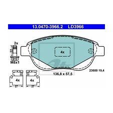 ATE LD3966 Bremsbelagsatz, Scheibenbremse ATE Ceramic  13.0470-3966.2  Vorne